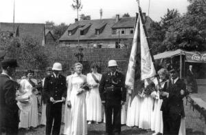 1955 Fahnenweihe 2