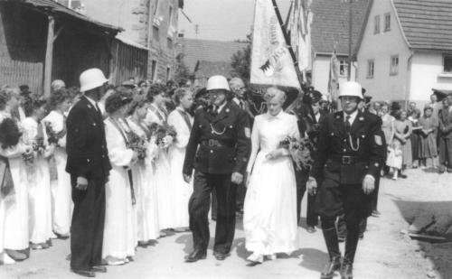 1955_Fahnenweihe_1