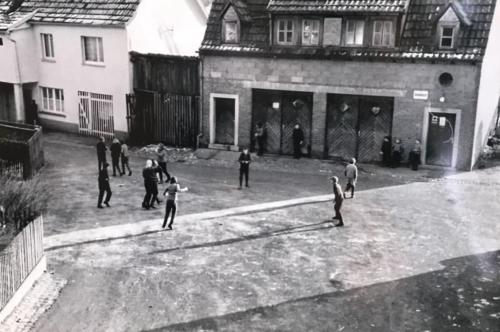 Gerätehaus ca. 1950